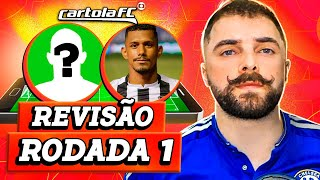 TIME REVISADO #01 RODADA | CARTOLA FC