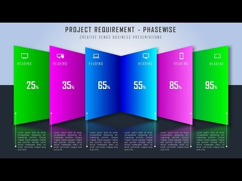 How To Create Workflow, Project Status, Stages, Step, Path Diagram in Microsoft Office365 PowerPoint
