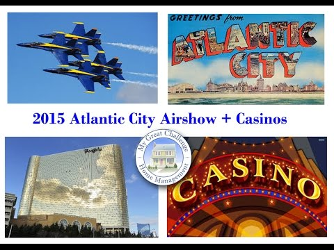 2015 - Atlantic City Air Show and Casinos - Ft  Blue Angels and F-22 (DITL)