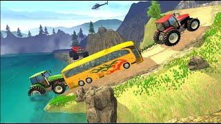 Tractor pulls 2021 near me | Tractor Pull Simulator Drive | Tractor Game 2020 | tractor pull | screenshot 5