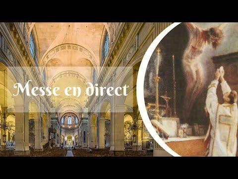 Messe de 18h30 - Notre Dame du Mont Carmel - Abbé Ch. CALLIER