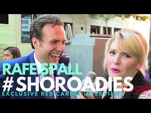 Rafe Spall interviewed at the premiere of Showtime's Roadies