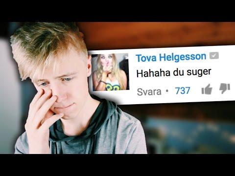 """LÄSER HATKOMMENTARER PÅ """"TEASE"""""""