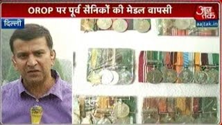 OROP War: 100 Army Veterans To Return Medals Soon