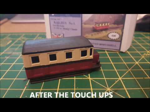 A1 Models 009 Gauge Railbus Kit Build