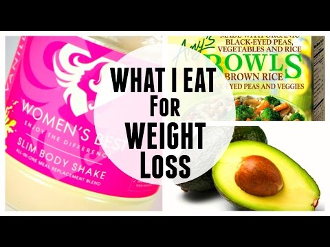 What I Eat In a Day to Lose Weight + Women's Best Slim Body Shake Review