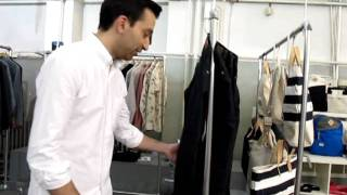 Naked and Famous Brandon talks Scratch n Sniff Denim