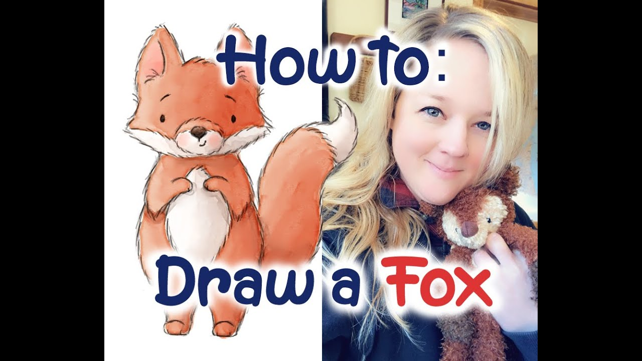 How To Draw A Fox Art Lesson Great For Kids Traditional Or Digital Art Draw With Jess Youtube