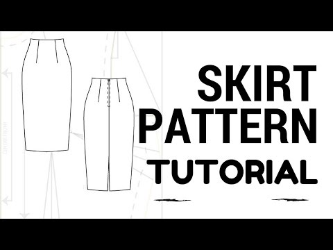 DIY Skirt: Skirt Pattern Tutorial