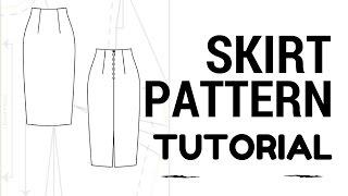 DIY Skirt: Skirt Pattern Tutorial