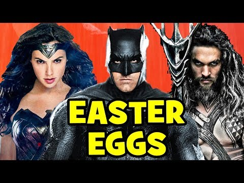 BATMAN V SUPERMAN Easter Eggs, References & JUSTICE LEAGUE Cameos Explained