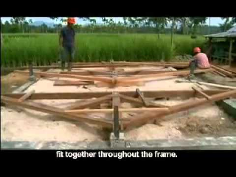 Kayu Rumah Semi Kayu Timber Semi Wooden Houses Youtube
