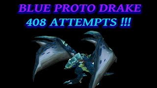 I Finally Looted the Blue Proto Drake - World of Warcraft