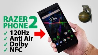 Buka box RAZER PHONE 2 + Main PUBG Level PRO!