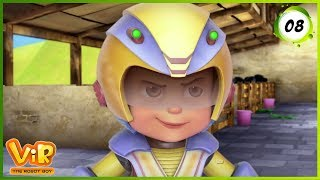 Vir: The Robot Boy | Chatori Gintu | Action Show for Kids | 3D cartoons