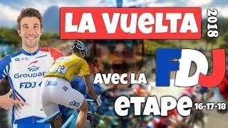 VUELTA A ESPAÑA 2018 - Etape 16-17-18 sur TDF 2018