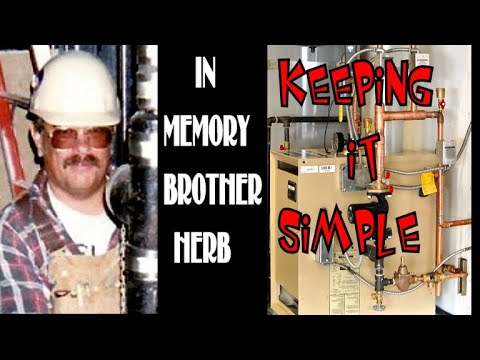 Keeping it Simple Weil-Mclain CGA-5 Boiler; Artist in Motion