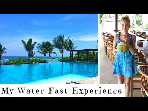 My Water Fast Experience || Bali Vlog || Part 1