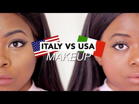 Italian vs American Makeup Trends