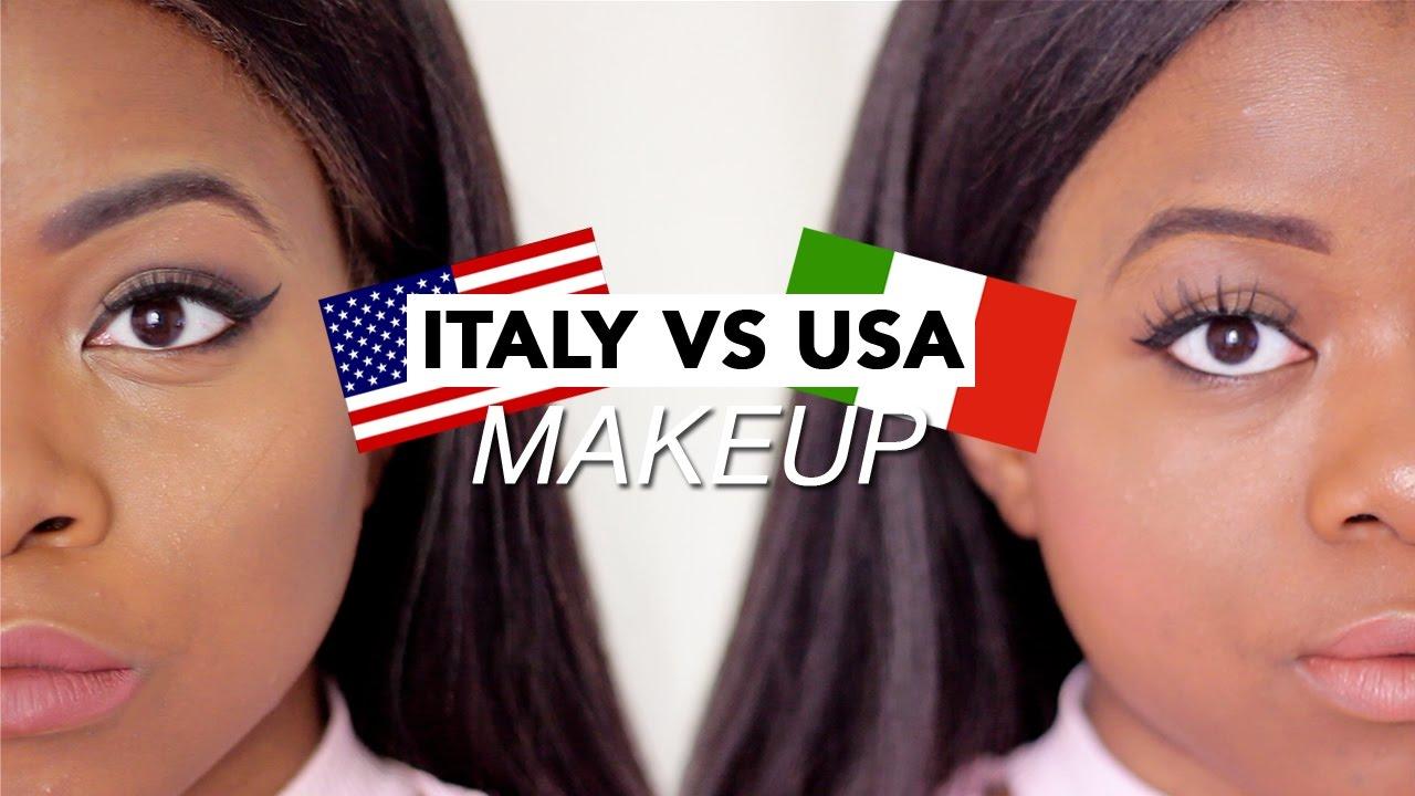 Italian vs american makeup trends youtube italian vs american makeup trends baditri Images