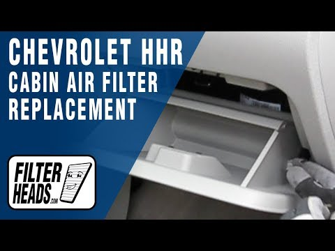 How To Replace Cabin Air Filter Chevrolet Hhr Youtube