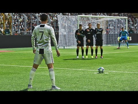 PES 2019 - Free Kick Compilation #2 HD PS4 PRO