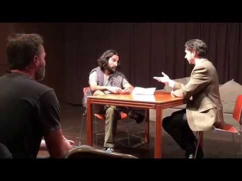 Fahim Fazli  Truth Be Told Acting Collective with BoJesse Christopher.