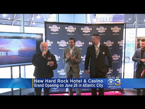New Hard Rock Hotel & Casino To Open On June 28 In Atlantic City
