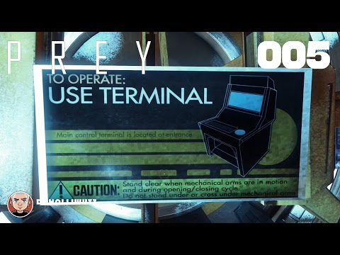 PREY #005 - Direktor Thorsteins Büro [PS4] Let's play Prey