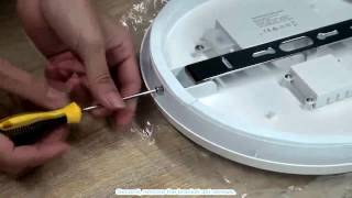 LED Ceiling light Details and installation instruction - iFixit