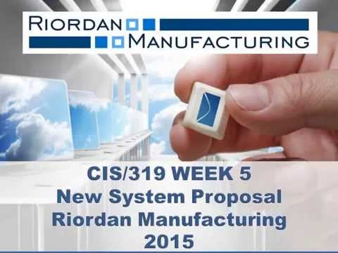 system design for riordan manufacturing human Riordan manufacturing (rm) is a global organization that specializes in the manufacture of molded plastic products with revenues in excess of $1 billion, rm employs 550 people and has projected annual earnings of $46 million.