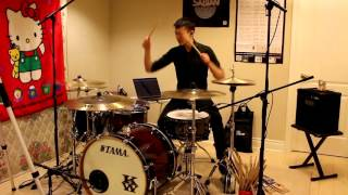 Michael Bublé - Santa Claus Is Coming To Town - Drum Cover by Kenneth Wong