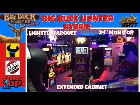 BIG BUCK HUNTER PRO HYBRID WITH LIGHTED MARQUEE from GameMom77