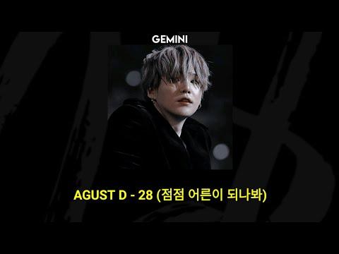 (BTS SUGA) AGUST D - 28 (Feat. NiiHWA) | (Tradução/ legendado)