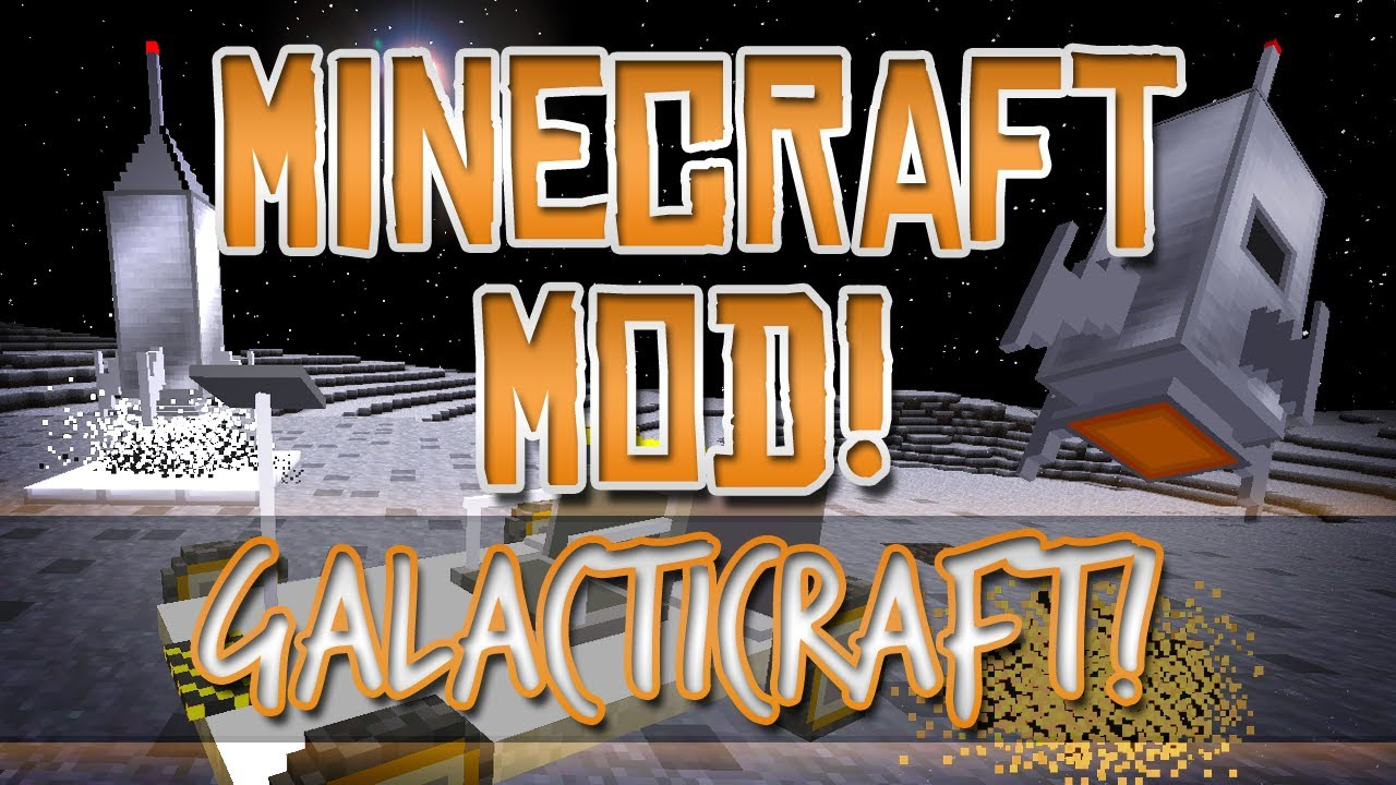 Galacticraft Mod 1 11 2/1 10 2/1 8 9 (The Universe Travel) for