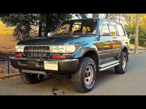 Toyota Land Cruiser Diesel >> 1990 Toyota Land Cruiser 80 Series Turbo Diesel Usa Import Japan Purchase Inspection Review