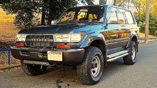 1990 Toyota Land Cruiser 80-Series Turbo Diesel (USA Import) Japan Purchase Inspection Review
