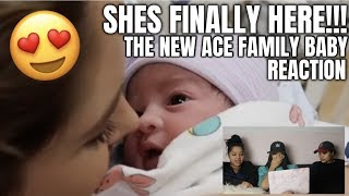 SHE'S FINALLY HERE!!! **EVERYONE MEET OUR NEW PRINCESS** REACTION