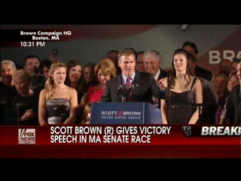 "Scott Brown VICTORY Speech: ""This is the People"