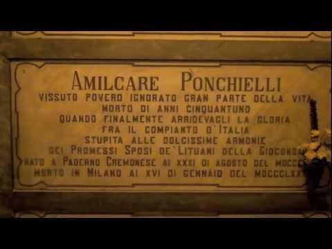 TOMBE ILLUSTRI AL FAMEDIO DEL CIMITERO MONUMENTALE DI MILANO - 3.3.2012