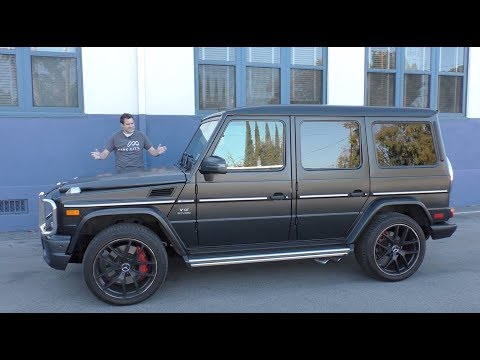 The $230,000 Mercedes-AMG G65 Is the Stupidest Car On Sale