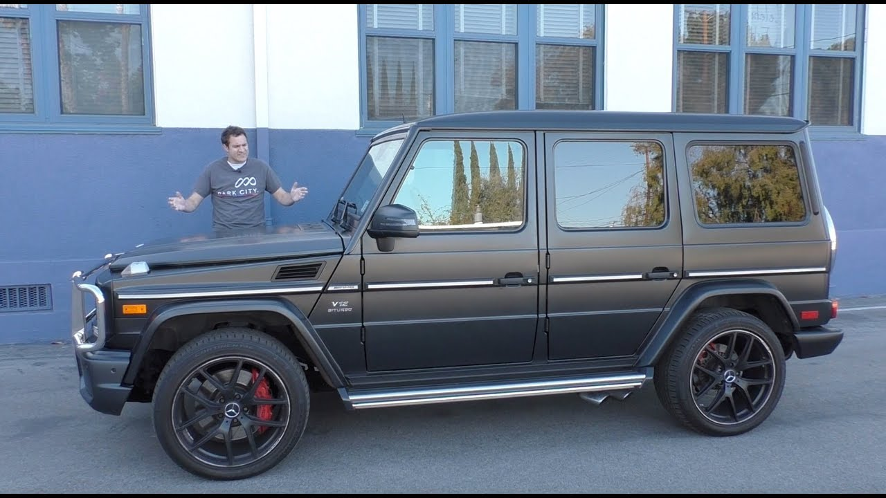 The 230 000 Mercedes Amg G65 Is The Stupidest Car On Sale Youtube