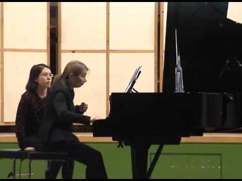 Mikheil Shugliashvili - INVERSIA for piano and tape -  Tamriko Kordzaia (piano)