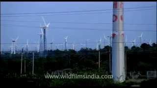 Horizontal-axis wind turbines (HAWT) in Kerala!