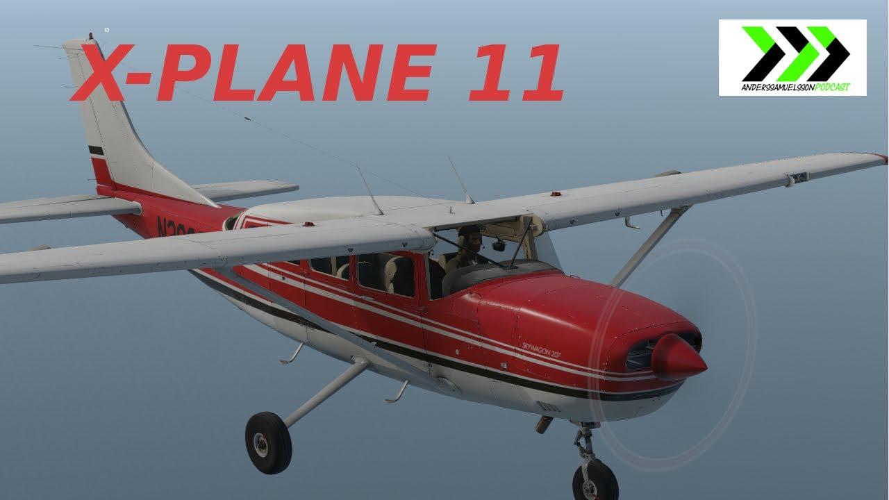 X-PLANE 11 - Alabeo Cessna 207