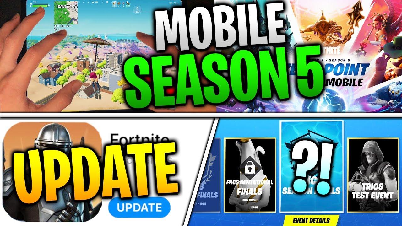 Fortnite Mobile Season 5 UPDATES! iOS Return News...