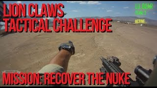 Lion Claws Tactical Challenge Milsim Airsoft Mission 3: Recover the NUKE - AirSplat on Demand