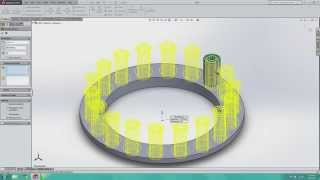 SolidWorks Baby Steps #3: Linear and Circular Patterns, Part I