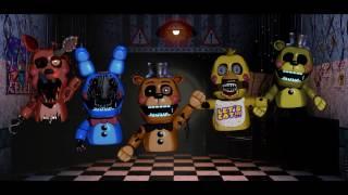- FNaF speed edit old animatroniki z FNaF 2 w wersji puppet