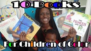 10 Children Books with Black Characters ! :)